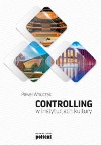 Controlling w instytucjach kultury - okładka książki