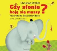 Czy słonie boją się myszy? - pudełko audiobooku