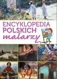 Encyklopedia polskich malarzy - - okładka książki