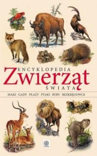 Encyklopedia zwierząt świata - okładka książki