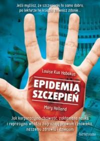 Epidemia szczepień - okładka książki