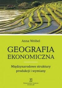 Geografia ekonomiczna. Międzynarodowe struktury produkcji i wymiany - okładka książki