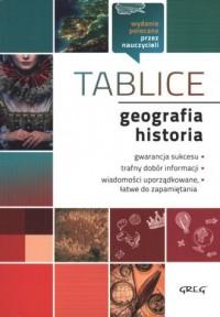 Geografia. Historia. Tablice - - okładka podręcznika
