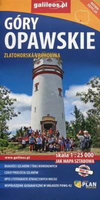 Góry Opawskie 1:25 000 - okładka książki