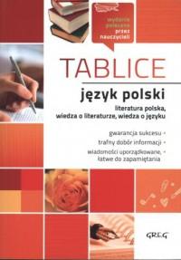 Język polski. Tablice - Wydawnictwo - okładka podręcznika
