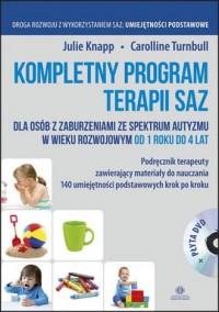 Kompletny program terapii SAZ Podręcznik - okładka książki