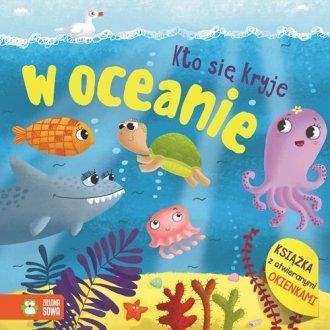Kto się kryje W oceanie - okładka książki