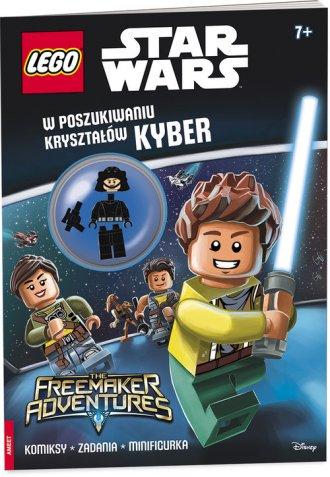 Lego Star Wars W poszukiwaniu kryształów - okładka książki