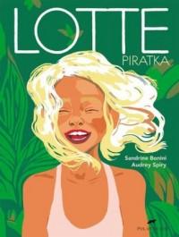Lotte Piratka - okładka książki