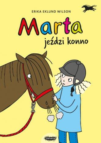 Marta jeździ konno - okładka książki