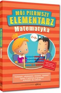 Mój pierwszy elementarz - matematyka - okładka podręcznika