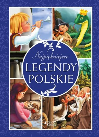 Najpiękniejsze legendy polskie - okładka książki