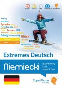 Niemiecki. Extremes Deutsch. Intensywny - okładka podręcznika