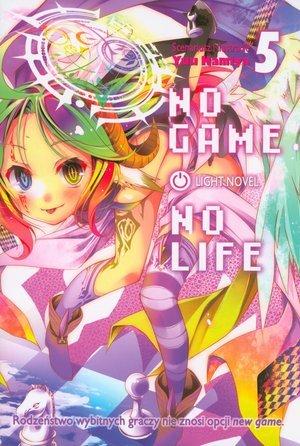 No Game No Life 5 - okładka książki