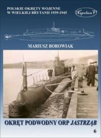 Okręt podowodny ORP Jastrząb - okładka książki