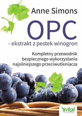 OPC ekstrakt z pestek winogron. - okładka książki