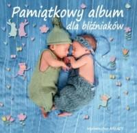 Pamiątkowy album dla bliźniaków - okładka książki