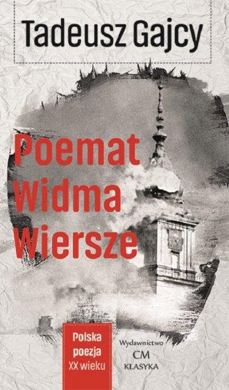 Poemat Widma. Wiersze - okładka książki