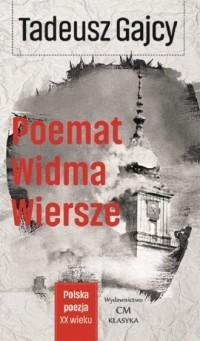 Poemat Widma. Wiersze - Tadeusz - okładka książki