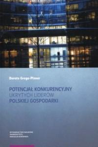 Potencjał konkurencyjny ukrytych - okładka książki
