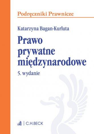 Prawo prywatne międzynarodowe. - okładka książki