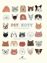 Psy i koty pod lupą naukowców - okładka książki