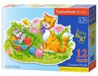 Puzzle 12 maxi koty - zdjęcie zabawki, gry