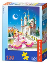 Puzzle 120 Kopciuszek - zdjęcie zabawki, gry