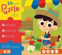 Puzzle 20. Owoce i warzywa - zdjęcie zabawki, gry