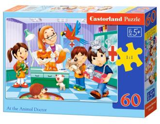 Puzzle 60. U Weterynarza - zdjęcie zabawki, gry