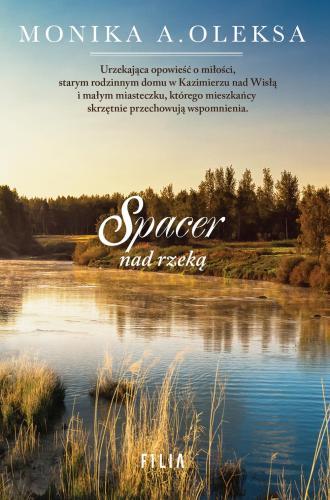 Spacer nad rzeką - okładka książki