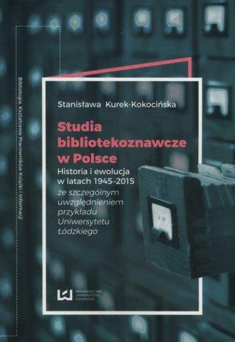 Studia bibliotekoznawcze w Polsce. - okładka książki