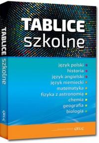 Tablice szkolne - Wydawnictwo - okładka podręcznika