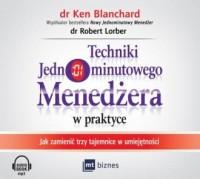 Techniki Jednominutowego Menedżera - pudełko audiobooku