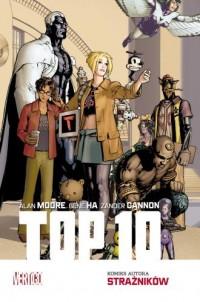 Top 10. Mistrzowie Komiksu - okładka książki