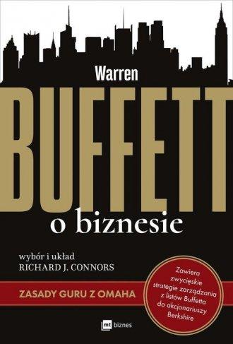 Warren Buffett o biznesie. Zasady - okładka książki