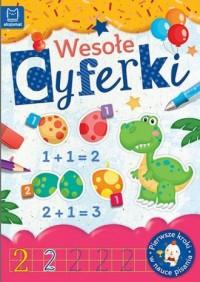 Wesołe cyferki - Wydawnictwo - okładka podręcznika