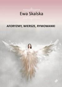 Aforyzmy, wiersze, rymowanki - okładka książki