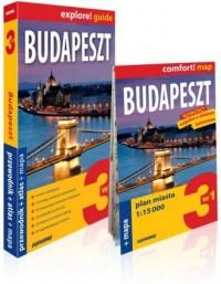 Budapeszt explore! guide. przewodnik - okładka książki