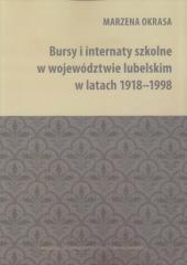 Bursy i internaty szkolne w województwie - okładka książki