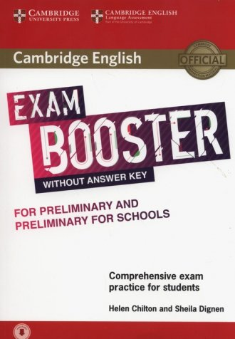Cambridge English Exam Booster - okładka podręcznika