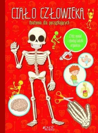 Ciało człowieka. Anatomia dla początkujących - okładka książki