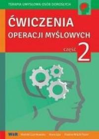 Ćwiczenia operacji myślowych cz. - okładka książki
