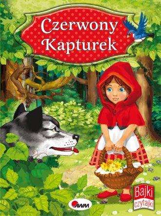 Czerwony Kapturek. Bajki Czytajki - okładka książki