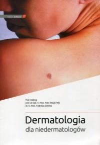 Dermatologia dla niedermatologów - okładka książki