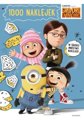 Gru Dru i Minionki. 1000 naklejek - okładka książki