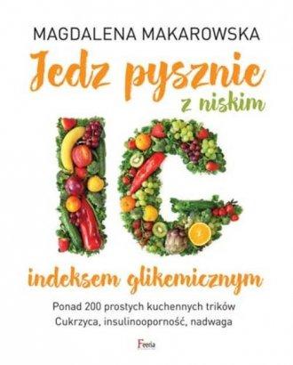 Jedz pysznie z niskim indeksem - okładka książki