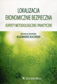 Lokalizacja ekonomicznie bezpieczna. Aspekty metodologiczne i praktyczne - okładka książki