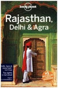 Lonely Planet. Rajasthan Delhi & Agra - okładka książki