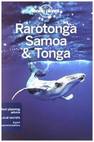 Lonely Planet. Rarotonga Samoa - okładka książki